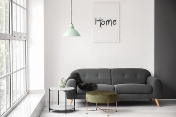 Interior of beautiful stylish room