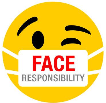 Corona Mask Smiley
