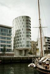 Modern architecture in HafenCity, Hamburg, Germany