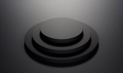 Abstract geometric dark background