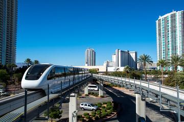 Urbanian transport in the Las Vegas