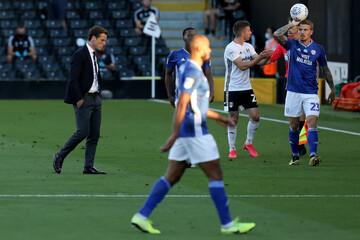 2020 English Championship Playoff Football Fulham v Cardiff Jul 30th