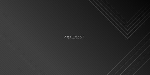 Golden striped black abstract background with lighting effect Wall mural