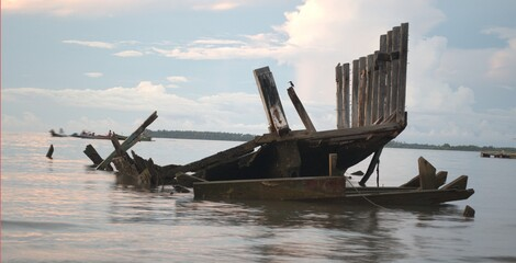Wreck on Boalemo, Indonesia