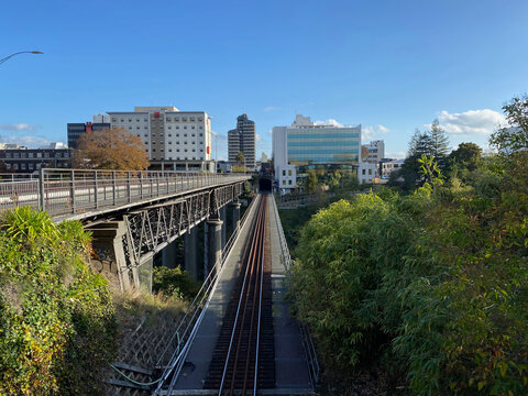Hamilton Central, New Zealand viewed from Hamilton East