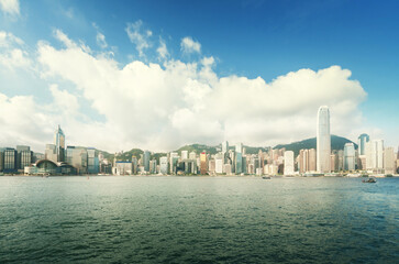 Fotomurales - Hong Kong harbour, perfect day