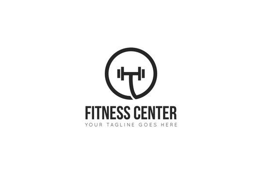 fitness logo, gym icon, symbol vector illustration design template