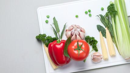 Wall Mural - Healthy fresh vegetables