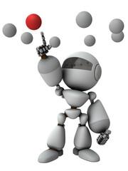 選択と決定する人工知能のロボット