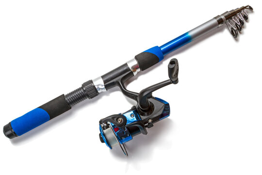 Foldable spinning rod with reel
