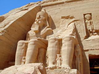 Egypte, temple de Abou Simbel