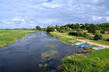 kajaki na Biebrzy w Goniądzu, wypoczynek w Biebrzańskim Parku Narodowym