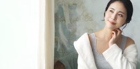 女性の美容イメージ スキンケア ボディケア エステサロン