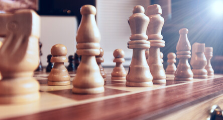 Close-up chess, problem solving strategy, strategic thinking.