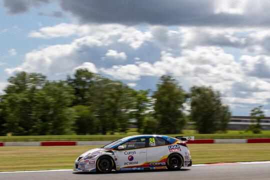 2020 BTCC Racing Donington Park Race Day 2nd Aug
