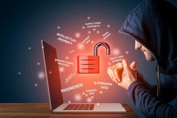 Malicious hacker prepared to steal corporate data