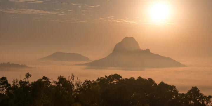 Glasshouse Mountains, Sunshine Coast Hinterland, Queensland, Australia