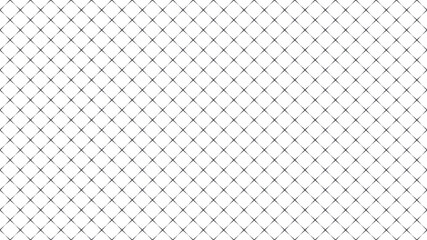 Wireframe mesh grid digital landscape with linear halftone dots . Abstract geometric background . Vector