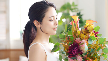 女性の美容イメージ スキンケア