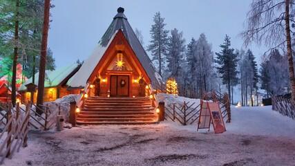 Santa Claus Village, Rovaniemi, Finland, Lapland, Lapponia, Finlandia, Arctic Circle, Polar, Santa Claus