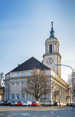 The new church in Fluntern, Zurich, Switzerland