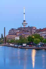 Photo sur Aluminium Rotterdam Rotterdam, Netherlands - april 2020