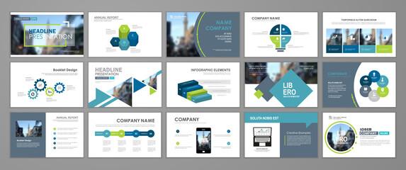 Obraz Presentation flyer concept - fototapety do salonu