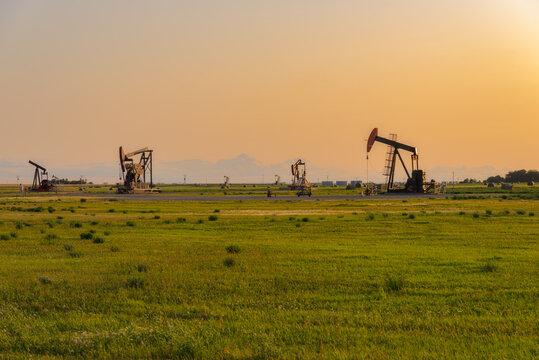 oil field pump in canada