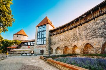 The former prison tower Neitsitorn in old Tallinn, Estonia