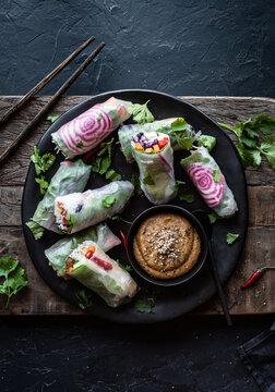 Vietnamese fresh rolls - Vietnam food