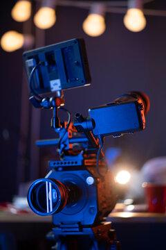 Digital Cinema Camera with Anamorphic Lens