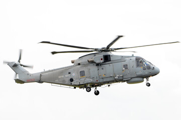 British navy anti-submarine warfare (ASW) helicopter