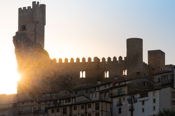 Castle of Frias in Burgos, Spain