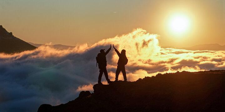 The joy of the summit