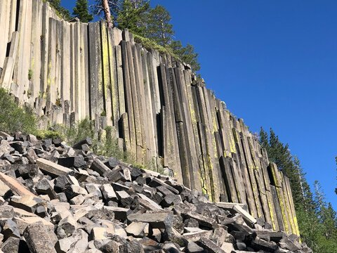 Devil's Postpile National Monument, Mammoth  CA