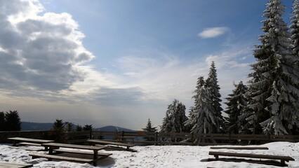 Polskie góry Gorce