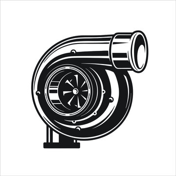 turbo icon isolated on white background from auto racing collection. turbo icon trendy and modern turbo symbol for logo, web, app, UI. turbo icon simple sign.