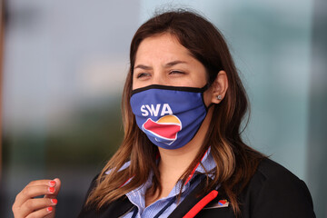 A Southwest Airlines agent wears a face mask at LAX airport, as the global outbreak of the coronavirus disease (COVID-19) continues, in Los Angeles