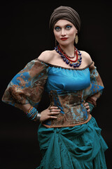beautiful gypsy woman