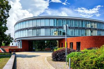 The town hall in Hennigsdorf, Brandenburg an der Havel, Germany