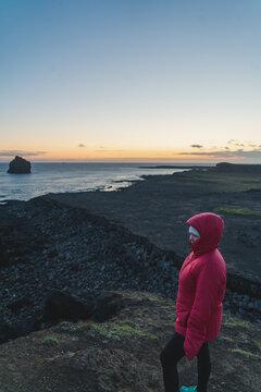 Reykjanestá sunset