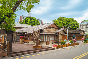 August 4, 2020: Hualien Hakka Culture Hall in hualien, taiwan, was used as the residence for the local prosecutor general after the Taipei District Court's Hualien Harbor Branch built in 1936.