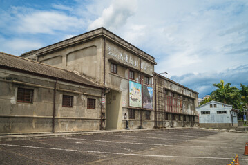 August 4, 2020: Hualien cultural and creative industries park, located in central hualien city, taiwan, was originally built in 1913 as part of a wine making factory complex.