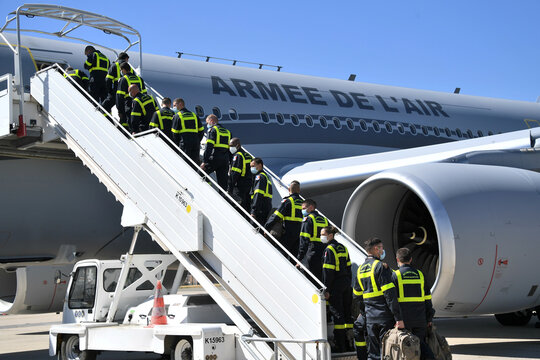 France sends search and rescue experts to Beirut, in Roissy