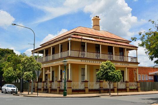 Maryborough, Queensland, Australia - December 21, 2017.  Maryborough Heritage Centre in Maryborough, QLD