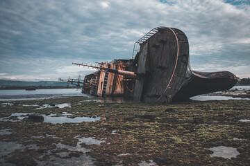 Garden Poster Shipwreck MV Viking Lagos Wreckship