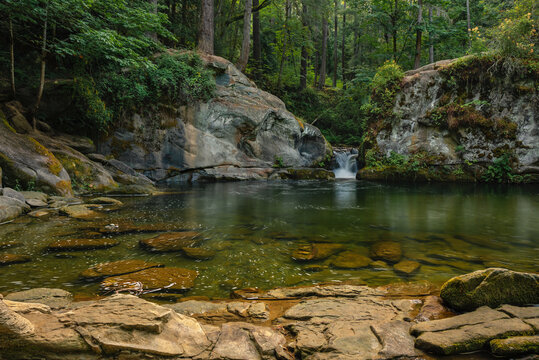 Pooling within Whatcom Falls