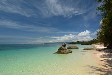 Ilig Iligan beach. Boracay island. Western Visayas. Philippines