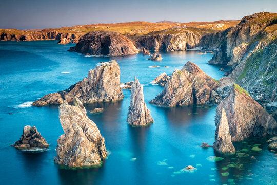 Mangersta Sea Stacks, Isle of Lewis, Scotland