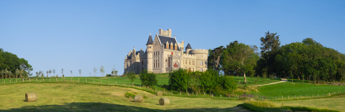 Abbadie Castle is a 19th century French ch?teau located in the town of Hendaye